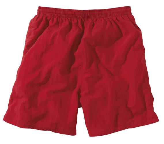 BECO shorts, binnenbroekje, elastische band, 3 zakjes, polyamide, rood, maat 128