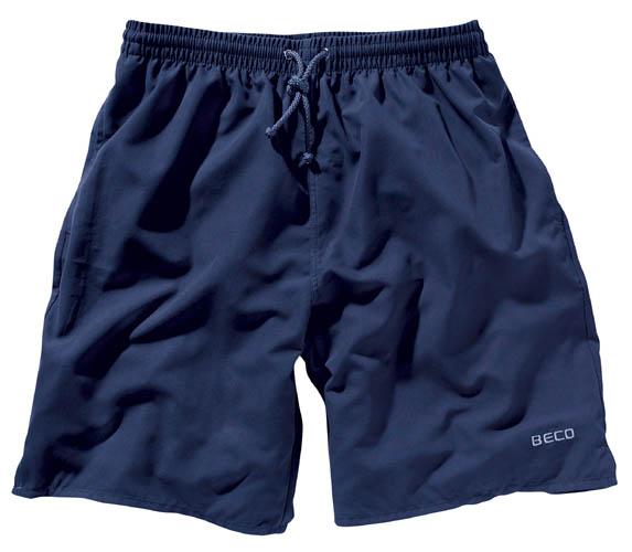 BECO shorts, binnenbroekje, elastische band, 2 zakjes, donker blauw, maat 128