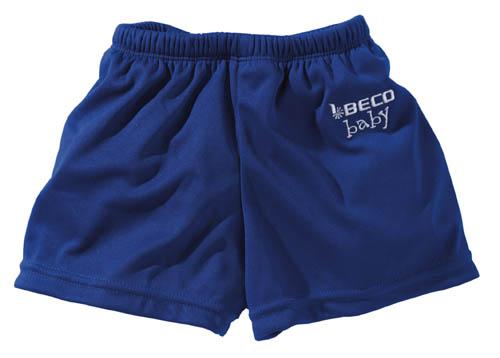 BECO baby zwemluier, short-vorm, blauw, maat S