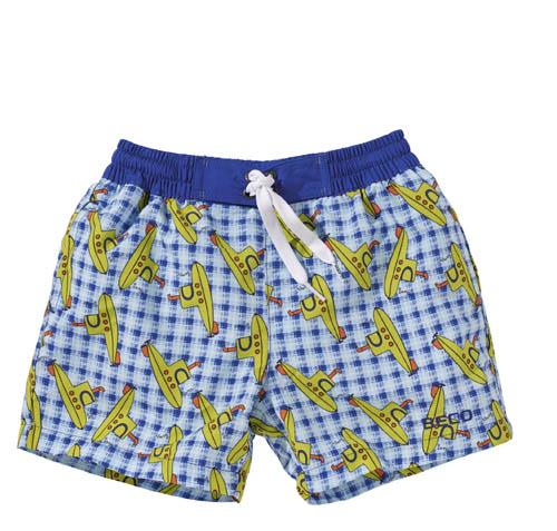 BECO shorts, binnenbroekje, elastische band, 2 zakjes, blauw, maat 80/86