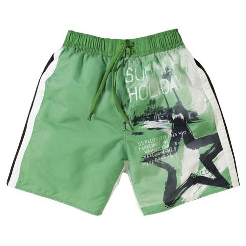 BECO shorts, binnenbroekje, elastische band, groen, maat 128**