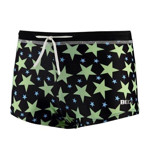 BECO zwembroek, boxer, groen/zwart, maat 92