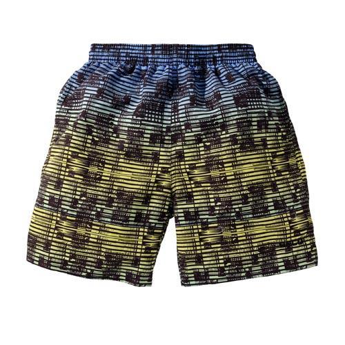 BECO shorts, binnenbroekje, elastische band, 3 zakjes, zwart/groen, maat 116
